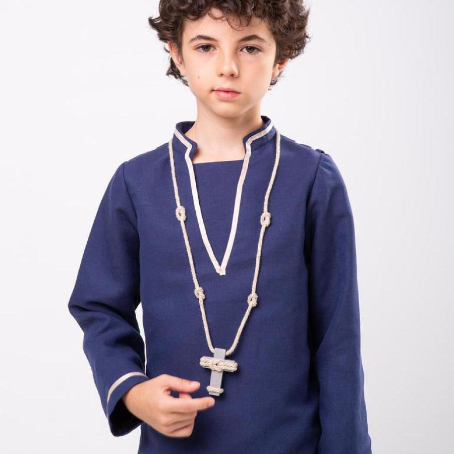 Cruz de comunión niño Nicolás
